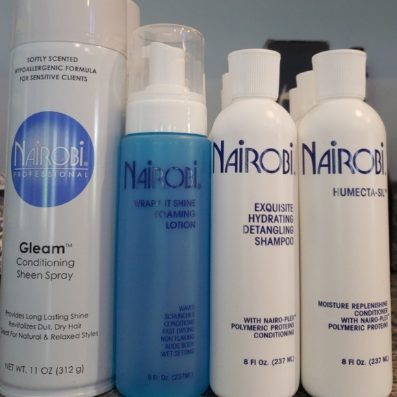 NEW PROFESSIONAL NAIROBI hair care products